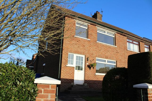 Thumbnail Semi-detached house to rent in Gortgrib Drive, Belfast
