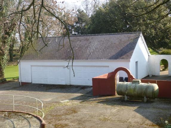 Double Garages of Pentrefelin, Amlwch, Sir Ynys Mon LL68