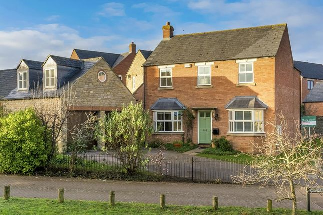 Thumbnail Detached house for sale in Lawrence Fields, Steeple Aston, Bicester