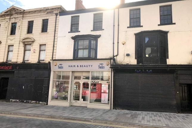 Thumbnail Retail premises for sale in 24 Church Street, Hartlepool