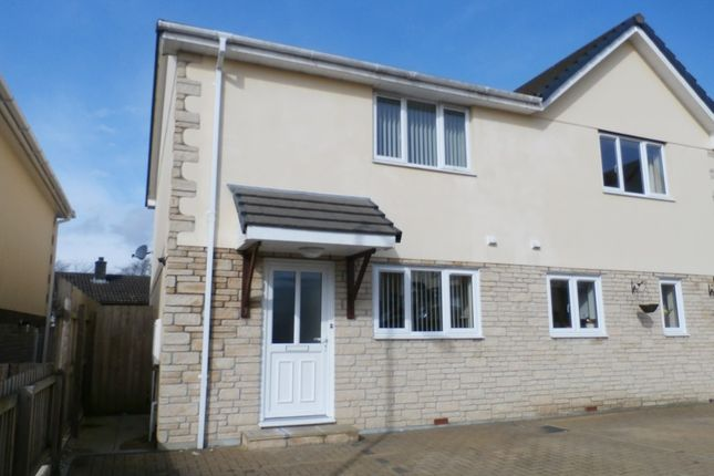 Thumbnail Semi-detached house to rent in Petroc Court, St. Anns Chapel, Gunnislake