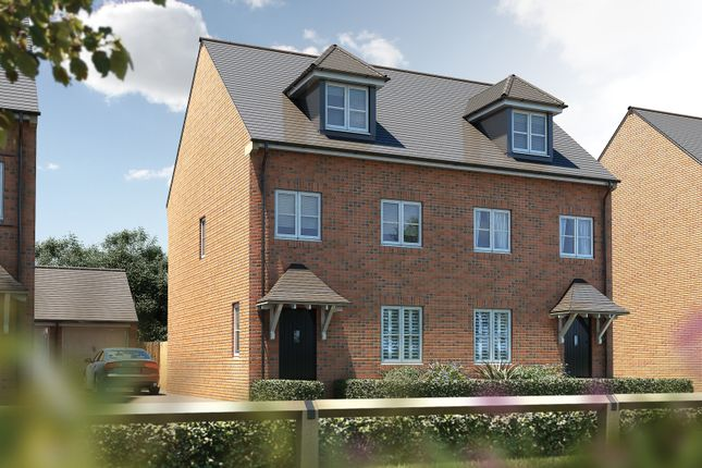"""Thumbnail Semi-detached house for sale in """"The Chastleton"""" at Oakley Wood Road, Bishops Tachbrook, Leamington Spa"""