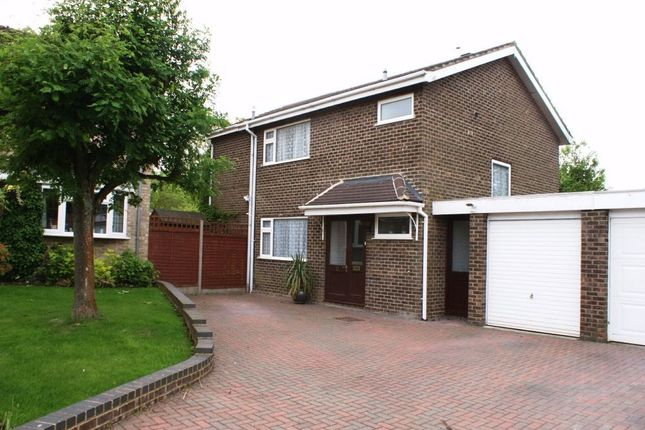 Thumbnail Detached house to rent in Foxglove Close, Kempshott, Basingstoke