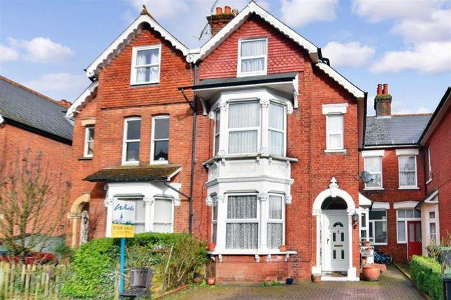 Thumbnail Semi-detached house for sale in Manor Grove, Tonbridge, Kent