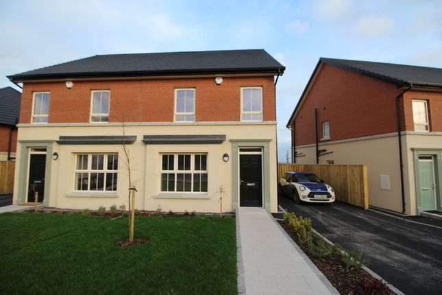 Thumbnail Semi-detached house to rent in Lynn Hall Place, Bangor