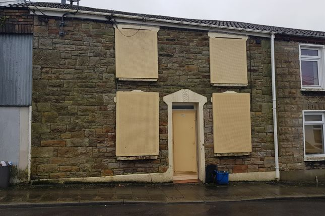 Thumbnail Terraced house for sale in Mount Pleasant Street, Dowlais, Merthyr Tydfil