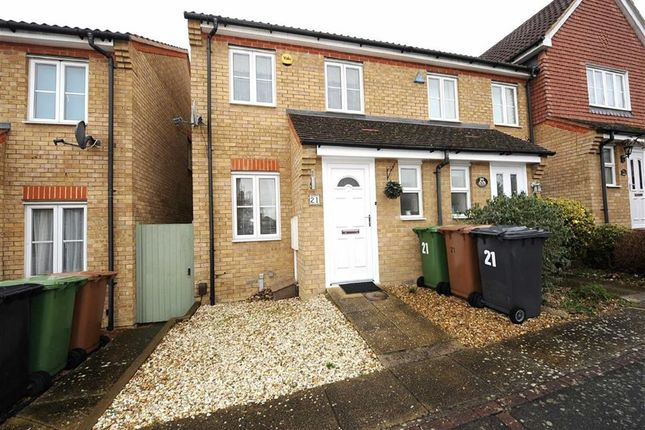 Thumbnail End terrace house to rent in Butterfields, Wellingborough