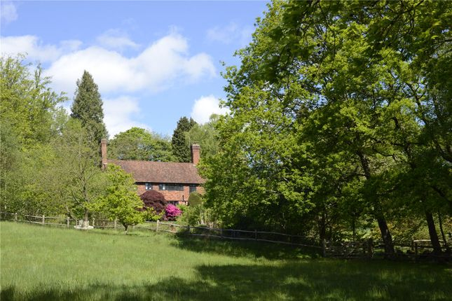 Thumbnail Detached house for sale in Three Gates Lane, Haslemere, Surrey