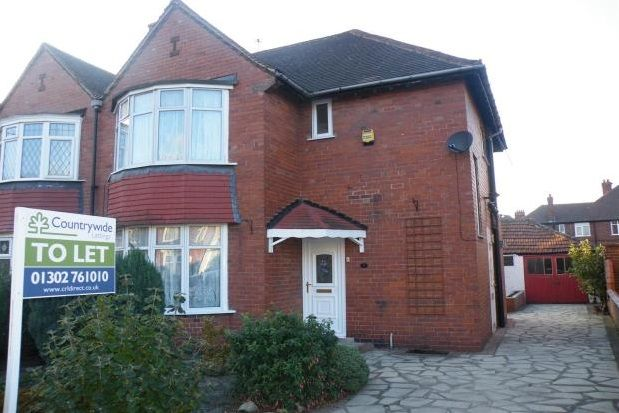 Thumbnail Semi-detached house to rent in Buckingham Road, Doncaster