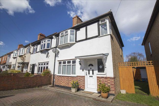 Thumbnail End terrace house for sale in Parkside Gardens, Coulsdon