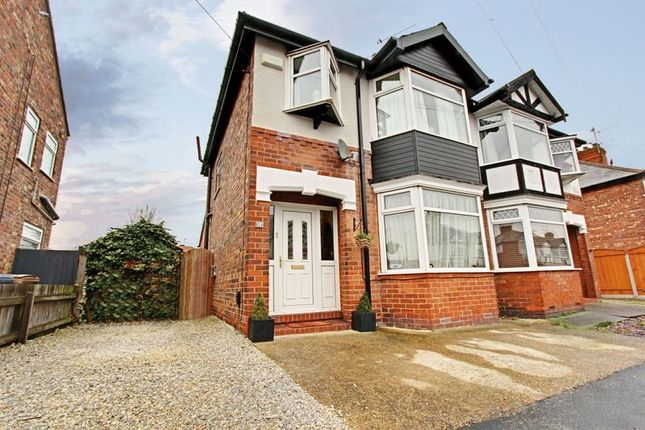 Thumbnail Semi-detached house for sale in Sunningdale Road, Hessle