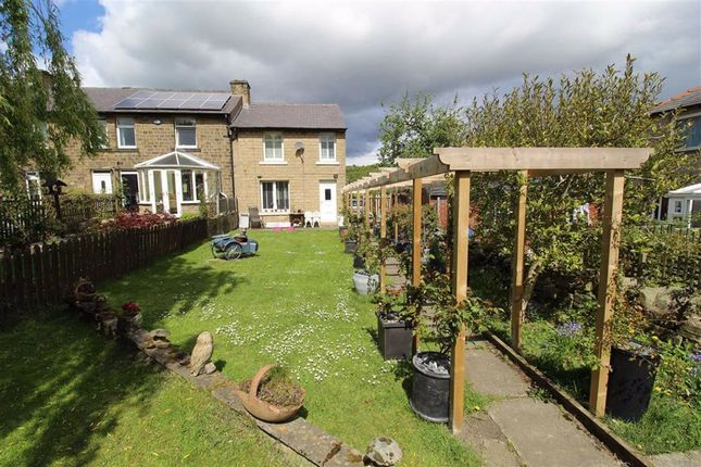 Thumbnail End terrace house for sale in Darbyfields, Golcar, Huddersfield