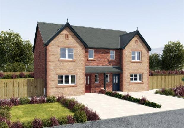 Thumbnail Semi-detached house for sale in Plot 13 (Semi Detached House), Thornedge Development, Station Road, Cumwhinton