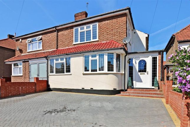 Thumbnail Semi-detached house for sale in Coronation Close, Bexley, Kent