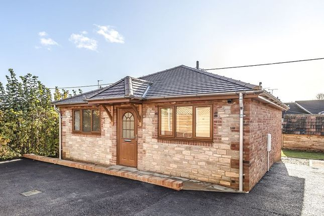 Thumbnail Detached bungalow for sale in Chapel Road, Heytesbury, Warminster