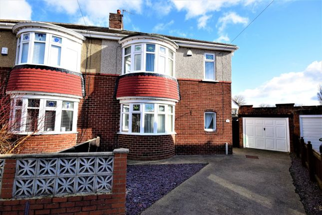 Thumbnail Semi-detached house for sale in Elmwood Grove, Bishopton Avenue, Stockton On Tees