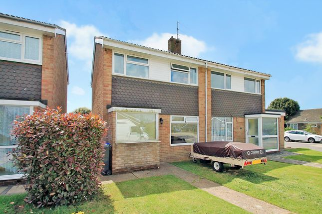 Thumbnail Semi-detached house for sale in Chilgrove Close, Goring-By-Sea, Worthing