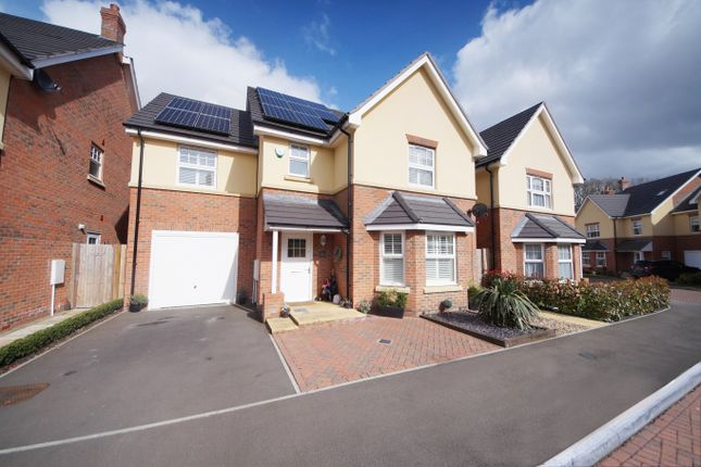 Thumbnail Detached house for sale in Perdue Close, Hook