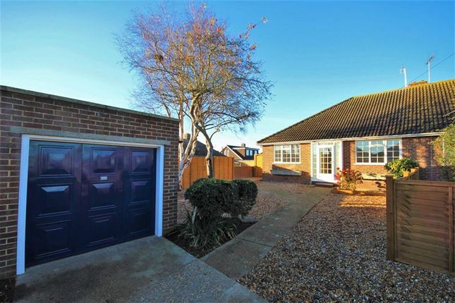 Thumbnail Semi-detached bungalow for sale in Selsey Close, Tarring, Worthing, West Sussex