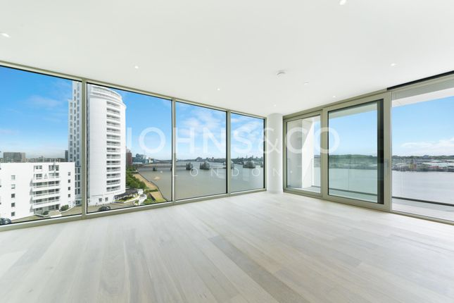 Thumbnail Flat to rent in Liner House, Royal Wharf