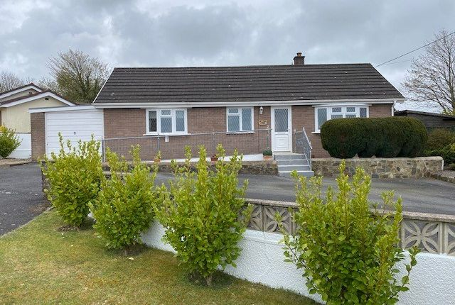 Detached bungalow for sale in Cross Inn, New Quay, Ceredigion