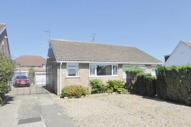 Thumbnail Semi-detached bungalow to rent in Carrfield, Woodthorpe, York