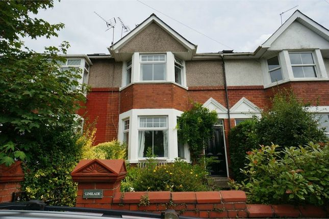 Thumbnail Terraced house for sale in Station Road, Caerleon, Newport