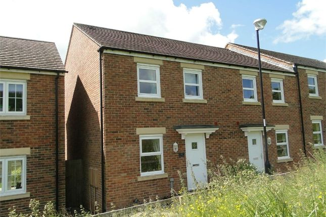 Thumbnail End terrace house for sale in Silure View, Usk