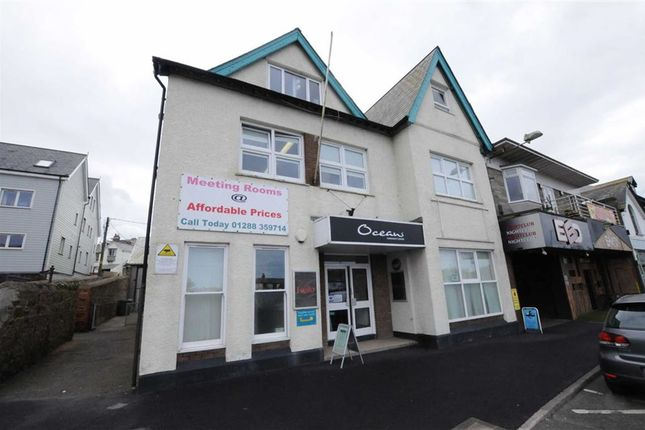 Thumbnail Commercial property to let in The Strand, Bude, Cornwall
