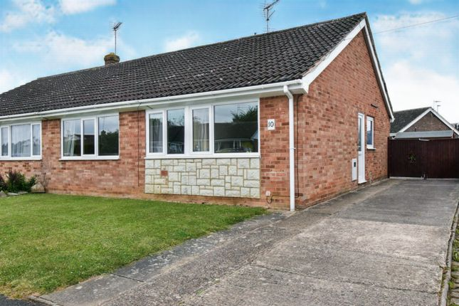 Thumbnail Semi-detached bungalow for sale in Rainsborough Gardens, Market Harborough