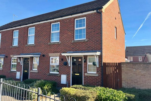 Thumbnail End terrace house for sale in Olive Drive, Scunthorpe