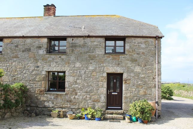 Thumbnail Semi-detached house for sale in Carnyorth Hill, Carnyorth, Near St. Just