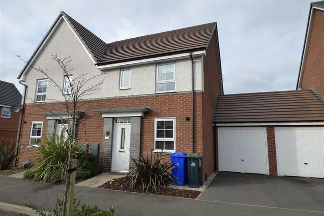 Thumbnail Semi-detached house for sale in Pipers View, Meir, Stoke-On-Trent