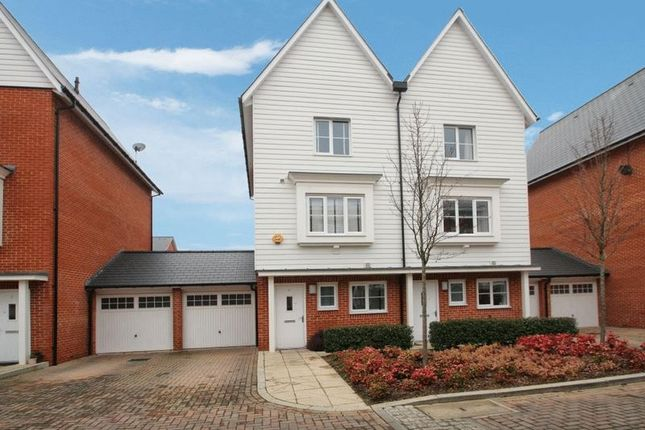Thumbnail Semi-detached house for sale in Chenille Drive, High Wycombe
