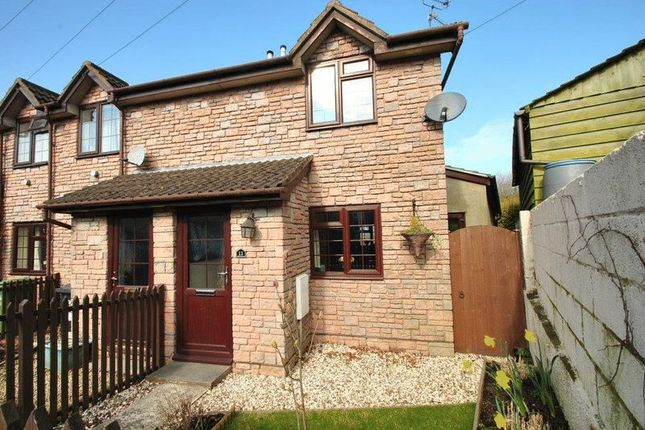 Thumbnail End terrace house to rent in St. Whites Terrace, St. Whites Road, Cinderford