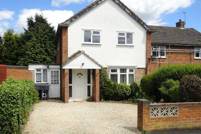 Thumbnail End terrace house for sale in Alderley Road, Bromsgrove, Worcestershire
