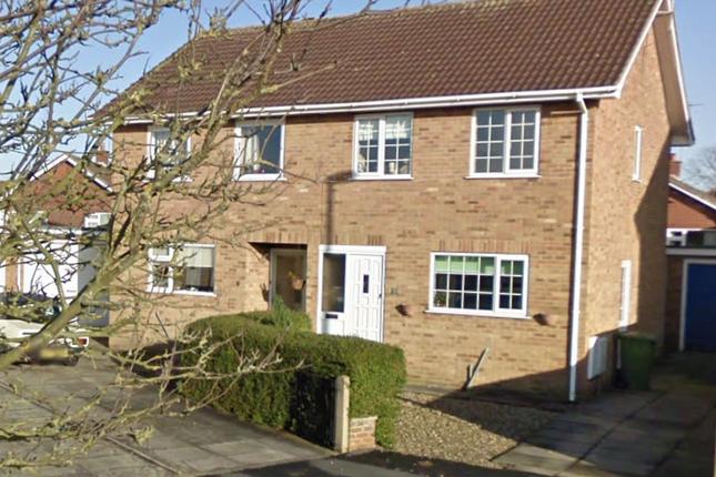 Thumbnail Semi-detached house to rent in Carroway Close, Bridlington