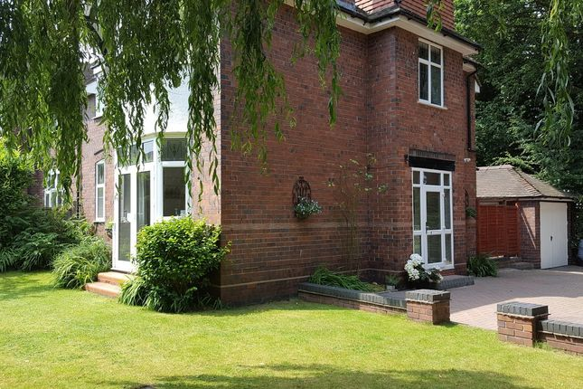 Thumbnail Semi-detached house for sale in Abbots Way, Westlands, Newcastle-Under-Lyme