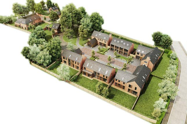 Aerial View of Culcheth Hall Drive, Culcheth, Warrington WA3