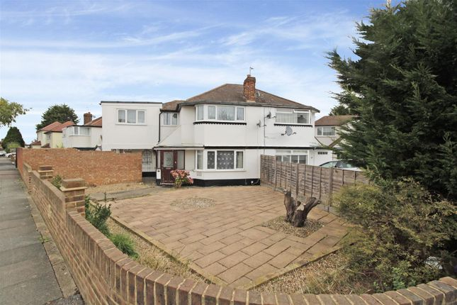 Thumbnail Semi-detached house to rent in Blenheim Drive, Welling