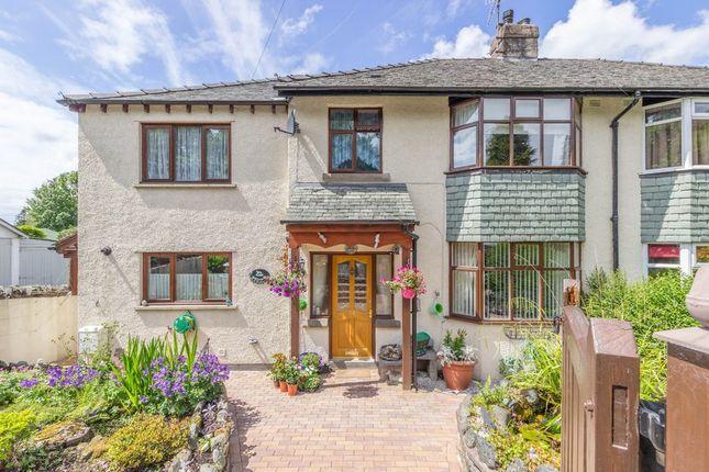 Thumbnail Semi-detached house for sale in Ellerthwaite Road, Windermere