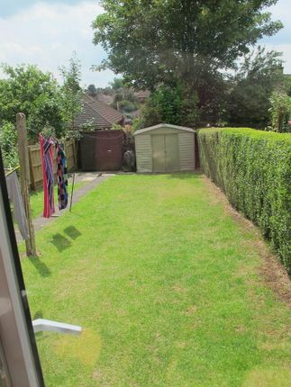 Rear Garden of Trevor Crescent, Northampton NN5