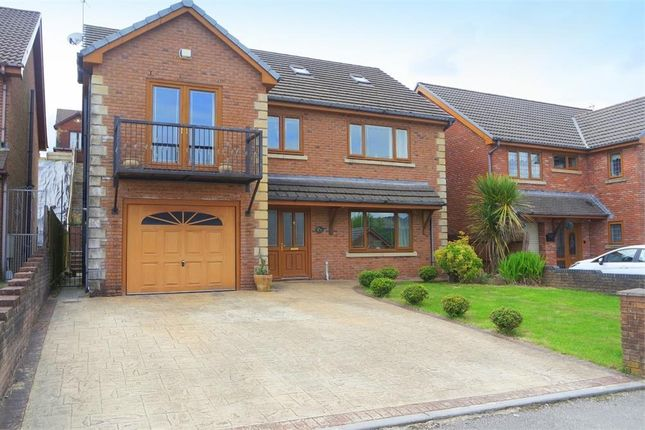 Thumbnail Detached house for sale in Cwrt Coed Parc, Maesteg