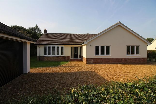 Thumbnail Detached house for sale in The Loke, Strumpshaw, Norwich