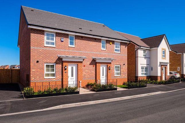 "Thumbnail Terraced house for sale in ""Folkestone"" at Bedewell Industrial Park, Hebburn"