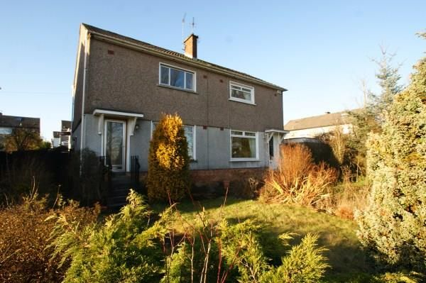 Thumbnail Semi-detached house to rent in Caird Terrace, Bearsden, Glasgow