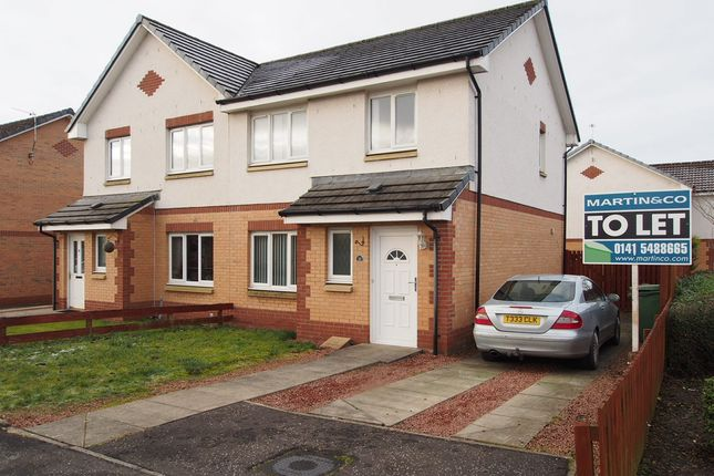 Thumbnail Semi-detached house to rent in Whitacres Road, Glasgow, Glasgow