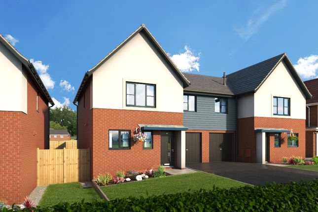 """Thumbnail Property for sale in """"The Alder At Meadow View, Shirebrook"""" at Brook Park East Road, Shirebrook, Mansfield"""