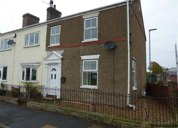 Thumbnail End terrace house for sale in Yarborough Road, Keelby, Grimsby