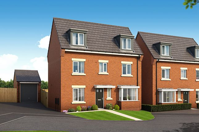 "Thumbnail Detached house for sale in ""The Cambridge"" at Harwood Lane, Great Harwood, Blackburn"